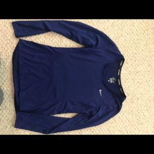 Women's long sleeve Nike Running top